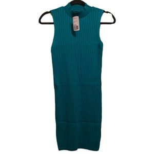 NWT Forever 21 Emerald Green Dress   S